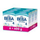 6x BEBA OPTIPRO 4 (600 g) - dojčenské mlieko