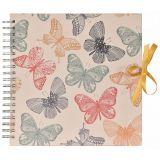 KARPEX Fotoalbum Scrapbook na spirali do zdobienia – Butterflies