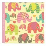 KARPEX Fotoalbum dziecięcy 10x15/200 fotografii Cute animals – słonie
