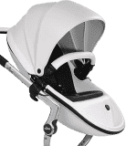 MIMA Xari 3G Kočárek sedák s korbou 2v1 -Bílý