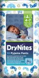 HUGGIES® DryNites pre chlapca 4-7 rokov (17-30 kg), 10 ks - nohavičkové plienky