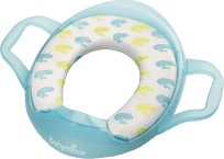 BABYMOOV WC adaptér Soft s úchytmi Žaba
