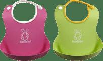 BABYBJÖRN Bryndáky měkké 2 ks – zelený/růžový