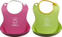 BABYBJÖRN Podbradník mäkký 2 ks, green/pink