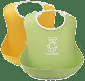 BABYBJÖRN Podbradník mäkký 2 ks, green/yellow
