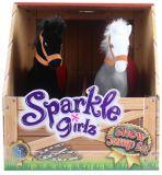 ALLTOYS Poník parkúrovom sada 2 ks Sparkle Girlz