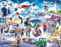 LARSEN Puzzle Letisko 42 dielikov