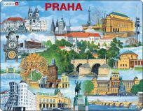 LARSEN Puzzle Praha - nejzajímavěJší atrakce 66 dílků