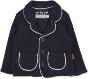 BOBOLI Společenské sako s kapsami, vel. 74 cm - modrá, kluk