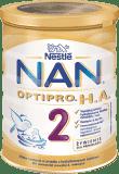 NESTLÉ NAN OPTIPRO H.A. 2 (400 g) Mleko modyfikowane dla niemowląt powyżej 6. miesiąca