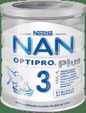 NESTLÉ NAN OPTIPRO Plus 3 (800 g) Mleko modyfikowane 12+, puszka