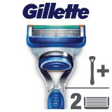 GILLETTE Fusion Manual holící strojek + 2 hlavice