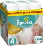 PAMPERS Premium Care 4 MAXI 168 szt. (8-14 kg), ZAPAS NA MIESIĄC - pieluchy jednorazowe