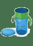AVENT Kubek do nauki samodzielnego picia 340 ml – niebieski
