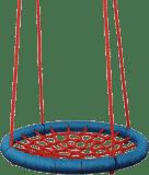 WOODY Huśtawka bocianie gniazdo średnica 85 cm - czerwona