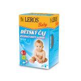 LEROS Baby Detský čaj Dýchacie cesty s lipou