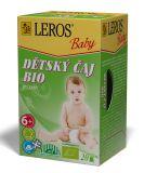 LEROS Baby BIO Detský čaj