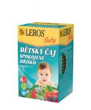 LEROS Baby Dětský čaj Spokojné bříško