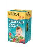 LEROS Baby Detský čaj Spokojné bruško