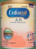 ENFAMIL A.R. 1 (400g) Mleko początkowe dla niemowląt z tendencją do ulewań, od urodzenia