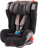 AVIONAUT Fotelik samochodowy EVOLVAIR SOFTY 2018 (9-36 kg) - czarno-beżowy