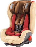 AVIONAUT Fotelik samochodowy EVOLVAIR ROYAL 2018 (9-36 kg) - beżowo-bordowy