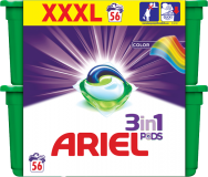 ARIEL Color All in 1 (56 ks) – gélové pracie kapsuly