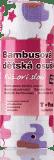 T-TOMI Bambusová osuška, 1 ks, růžoví sloni