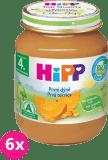 6x HIPP BIO Prvá tekvica 125 g - zeleninový príkrm
