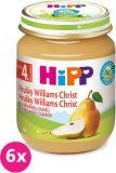 6x HIPP Hruškový Williams-Christ (125 g) - ovocný príkrm