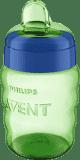 Philips AVENT Kubek niekapek z miękkim ustnikiem 260 ml (9m+) – niebiesko-zielony