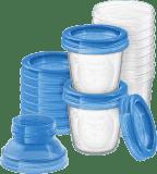 Philips AVENT VIA zásobníky na mateřské mléko, 10 ks