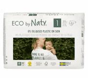 NATY NATURE BABYCARE 1 NEWBORN, 25 ks (2-5 kg) - jednorazové plienky