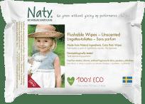 NATY NATURE BABYCARE ECO 42 ks, toaletní – vlhčené ubrousky