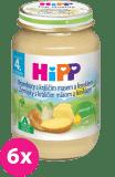 6x HIPP brambory s králičím masem a fenyklem (190 g) - maso-zeleninový příkrm
