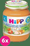 6x HIPP BIO Zeleninová omáčka s ryžou a kuraťom (125 g) - mäsovo-zeleninový príkrm