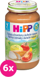 6x HIPP BIO brambory s rajčaty a kuřetem (220 g) - maso-zeleninový příkrm