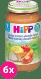 6x HIPP BIO Zemiaky s paradajkami a kuraťom (220 g) - mäsovo-zeleninový príkrm