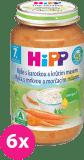 6x HIPP Ryža s karotkou a morčacím mäsom (220 g) - mäsovo-zeleninový príkrm