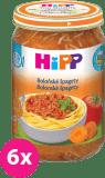 6x HIPP Špagety v bolonskej omáčke (250 g) - mäsovo-zeleninový príkrm