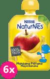 6x NESTLÉNaturnes Banán, Jablko (90 g) - ovocná kapsička