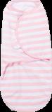 SUMMER INFANT Otulaczek SwaddleMe S różowe / białe prążki