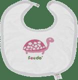 FEEDO śliniaczek żółw dziewczynka