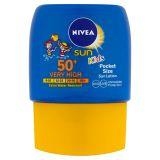 NIVEA SUN Vreckové detské mlieko na opaľovanie OF50 + 50ml