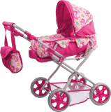 WOODY Dziecięcy wózek dla lalek