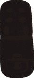 PETITE&MARS Vložka do kočárku Memory - Black