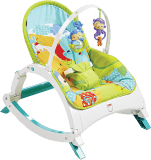 FISHER-PRICE Leżaczek-Bujaczek Rainforest 3w1