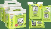 MUUMI Startovací balíček Baby Newborn 50 ks (2-5 kg)