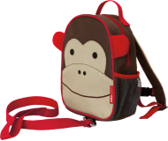 SKIP HOP Zoo Batôžtek s bezpečnostným vodítkom Opička 1+
