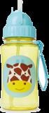 SKIP HOP Zoo Hrnek s brčkem bez PVC a BPA Žirafa 12 m+